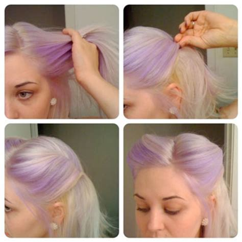 quick and easy retro hairstyles easy pin up hair quick fast looks the part