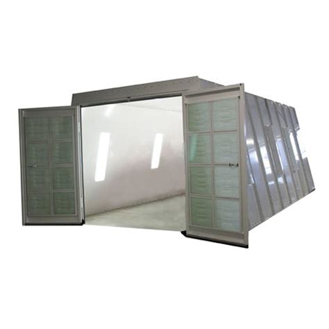 home depot paint booth col met 13 ft x 8 ft x 23 ft crossdraft spray booth