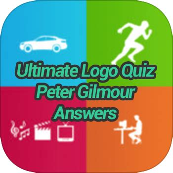 ultimate logo quiz peter gilmour answers game solver