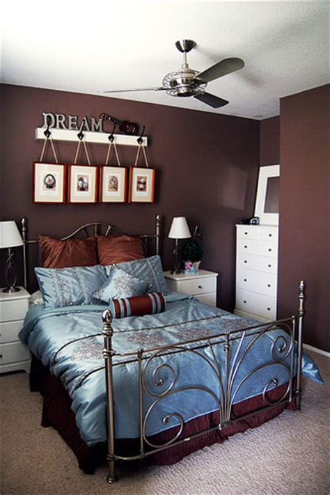 brown and blue decor blue and brown bedroom decorating ideas finishing touch