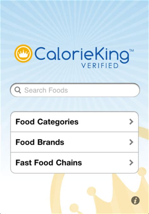 calorieking app for android calorieking calorie counter fast food chains restaurants the knownledge