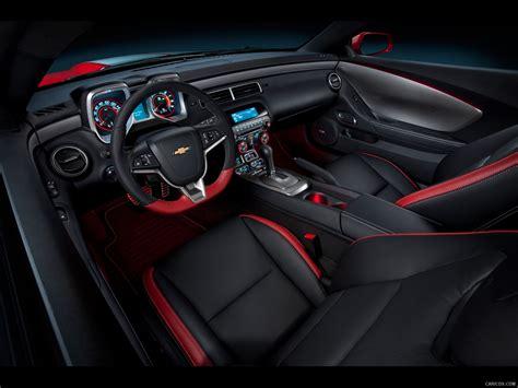 chevrolet camaro red flash concept  interior