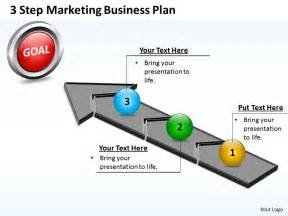 powerpoint sle templates business powerpoint templates 3 step marketing plan sales