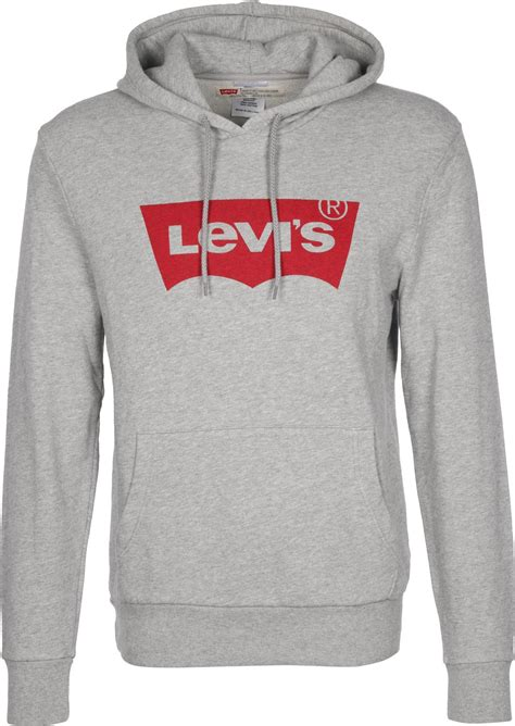 levi s 174 classic batwing hoodie grey