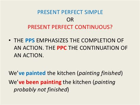 present perfect continuous ticleando present perfect simple and continuous