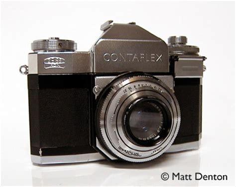 zeiss ikon contaflex ii matt's classic cameras