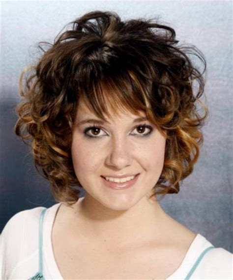 Hairstyles Curly Medium Short | medium short curly hairstyles
