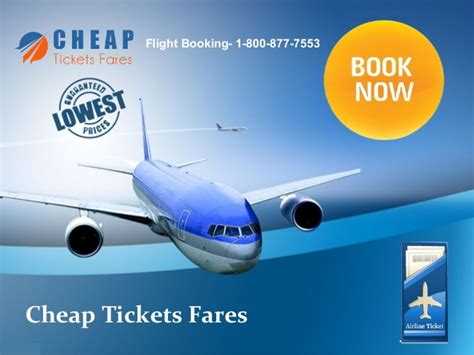 get cheapest flight tickets through cheap tickets fares