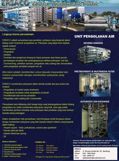 Jasa Water Treatment water treatment plant penjelaasan ringkas tentang perusahaan