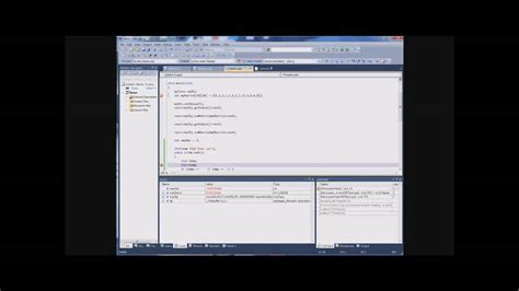 tutorial visual studio 2010 youtube tutorial debugging c in visual studio 2010 part 3 3