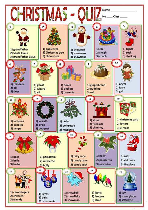 printable esl christmas games christmas key worksheet free esl printable worksheets