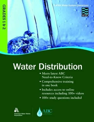 Wso 2 Years Of Exp Wait For Mba by Cheapest Copy Of Water Distribution Grades 1 2 Wso Awwa