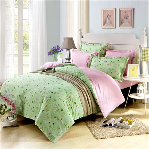 Quality Quilt Covers by 2015 High Quality Linen Duvet Cover 3d Quilt Green