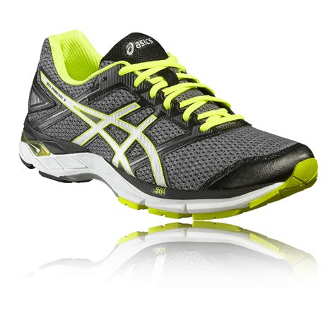 supportive athletic shoes asics gel 8 mens grey silver support running shoes