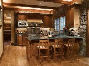 Stone Kitchens Design by Rustic Italian Kitchen Designs For Warm And Soft Ambiance