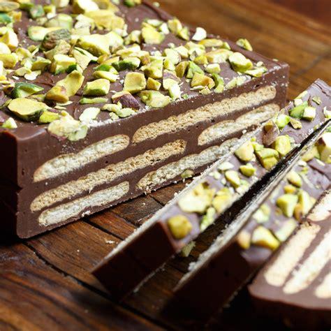 biscuit cake kiksekage chocolaty biscuit cake sweet sour savory