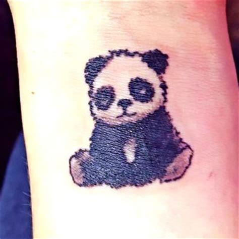 panda tattoo wrist 33 panda tattoo ideas