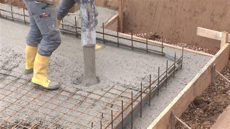 Bodenplatte Einschalen Anleitung by Baustelle Betonieren Bonn Deutschland Rm 270