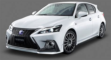 lexus ct200 dub magazine trd gives lexus ct 200h a facelift