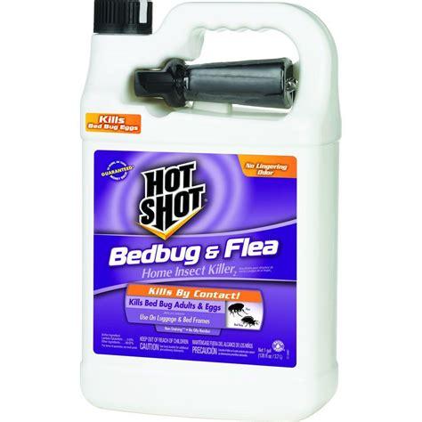 hot shot bed bug  flea killer  gal ready   sprayer hg   home depot