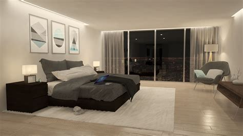 scene bedroom cgarchitect professional 3d architectural visualization