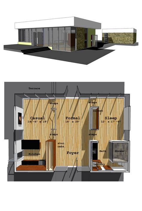 modern 1 bedroom house plans 49 best images about modern house plans on pinterest