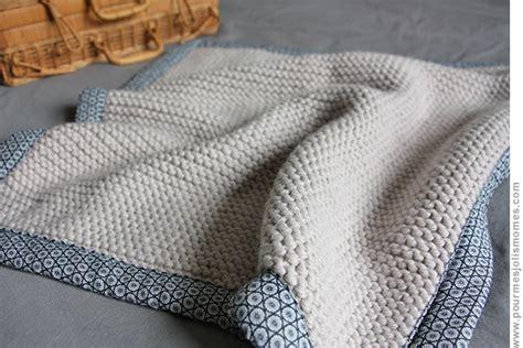 drap canapé baby blanket tricot tissu diy pour mes jolis m 244 mes