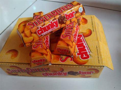 Chunky Bar 33gr Isi 12pcs jual coklat silverqueen chunky bar mini 36gr 2 box