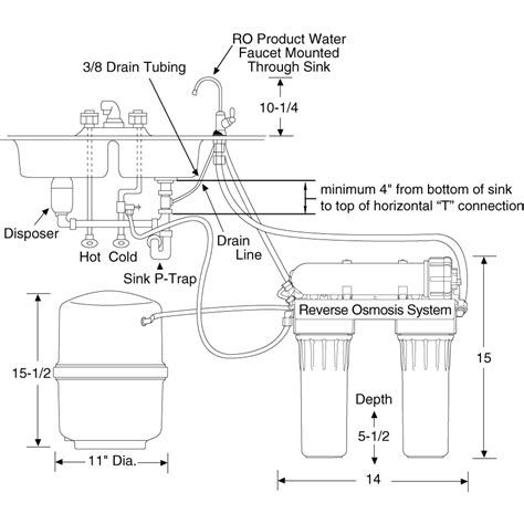 Ge Reverse Osmosis Faucet Ge Profile Reverse Osmosis Replacement Parts Electrical