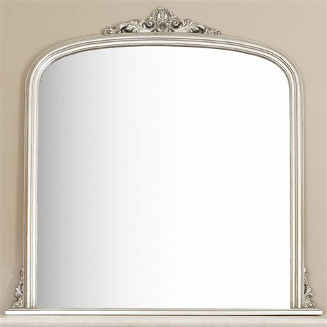 decorative mirrors online silver overmantel mirror by decorative mirrors online
