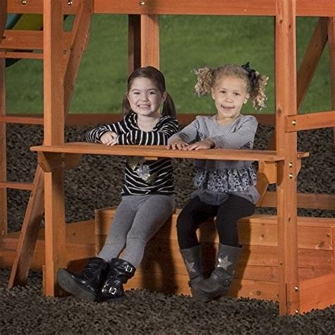 backyard discovery monticello cedar swing set backyard discovery monticello all cedar wood playset swing set endurro the best