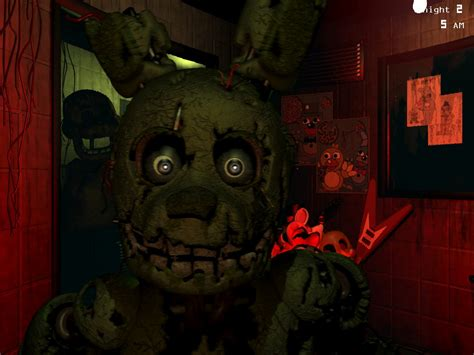 imagenes en movimiento de five nights at freddy s gu 237 a five nights at freddy s 3 springtrap 3djuegos
