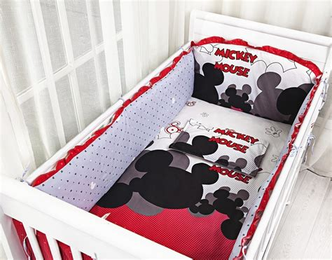 popular mickey mouse crib bedding set buy cheap mickey