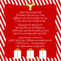 12 days of christmas service