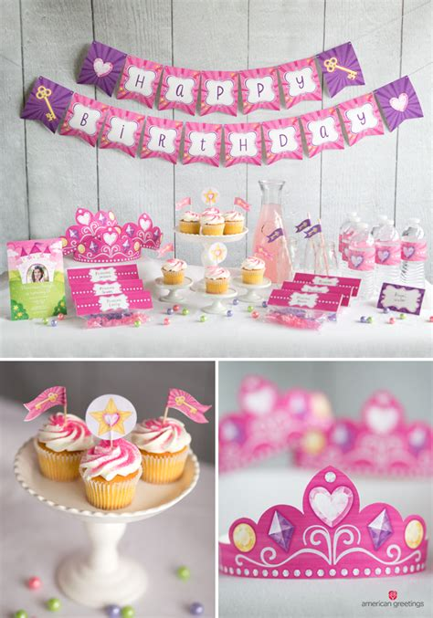 printable princess party decorations princess birthday party ideas inspiration