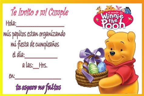 imagenes de winnie pooh de cumple años winnie pooh en tarjetas de cumplea 241 os tarjetas de