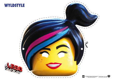 printable unikitty mask the lego movie character mask cut outs the brick fan