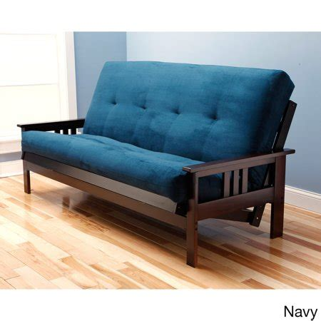 somette monterey size futon sofa bed with suede
