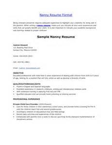 nanny resume exemplo nanny skills resume resume nanny ritus boxip net sample resumes for university students - How To Write A Nanny Resume