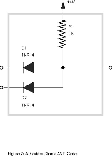 diode circuit for not gate csc270 lab 2