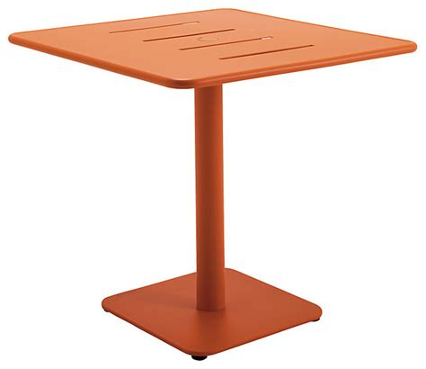 modern outdoor table gloster nomad square 90cm pedestal dining table modern outdoor tables by lewis
