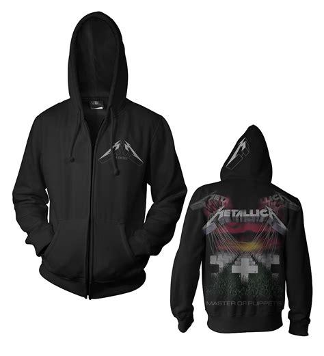 black album zip metallica master of puppets black zip hoody probity
