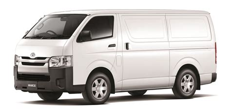 van toyota new toyota hiace freezer van glacier vehicles