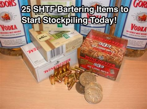 forgotten survival items the top 25 items that you forgot to add to your survival kit until now books top 25 shtf bartering items you ll want to start