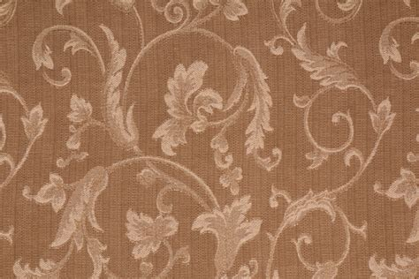 Mill Creek Upholstery Fabric by Mikado In Praline Italian Made Damask Upholstery Fabric By