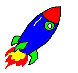 foguete desenho de shaman gartic