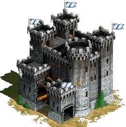 puri istana kastil gif gambar animasi animasi