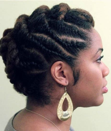 Flat Twist Updo Hairstyles by Hair Styles Updo Flat Twist Www Pixshark