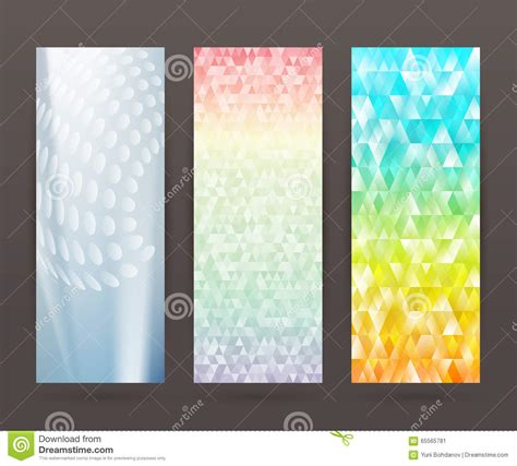 design banner vertical set vertical banner background template layout flyer62