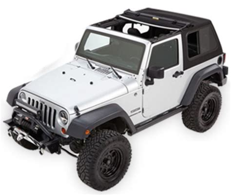 jeep wrangler top view 2015 jeep wrangler bestop trektop pro soft top for jeep